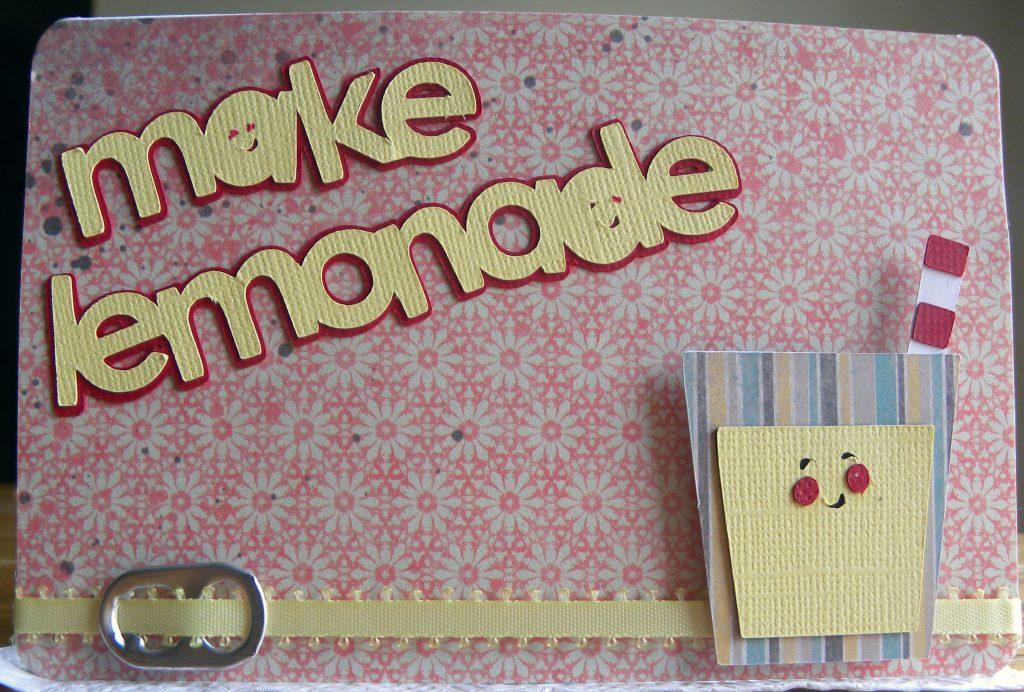 make lemonade simply charmed cartridge card idea