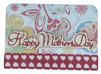 mother's day card from cricut martha stewart