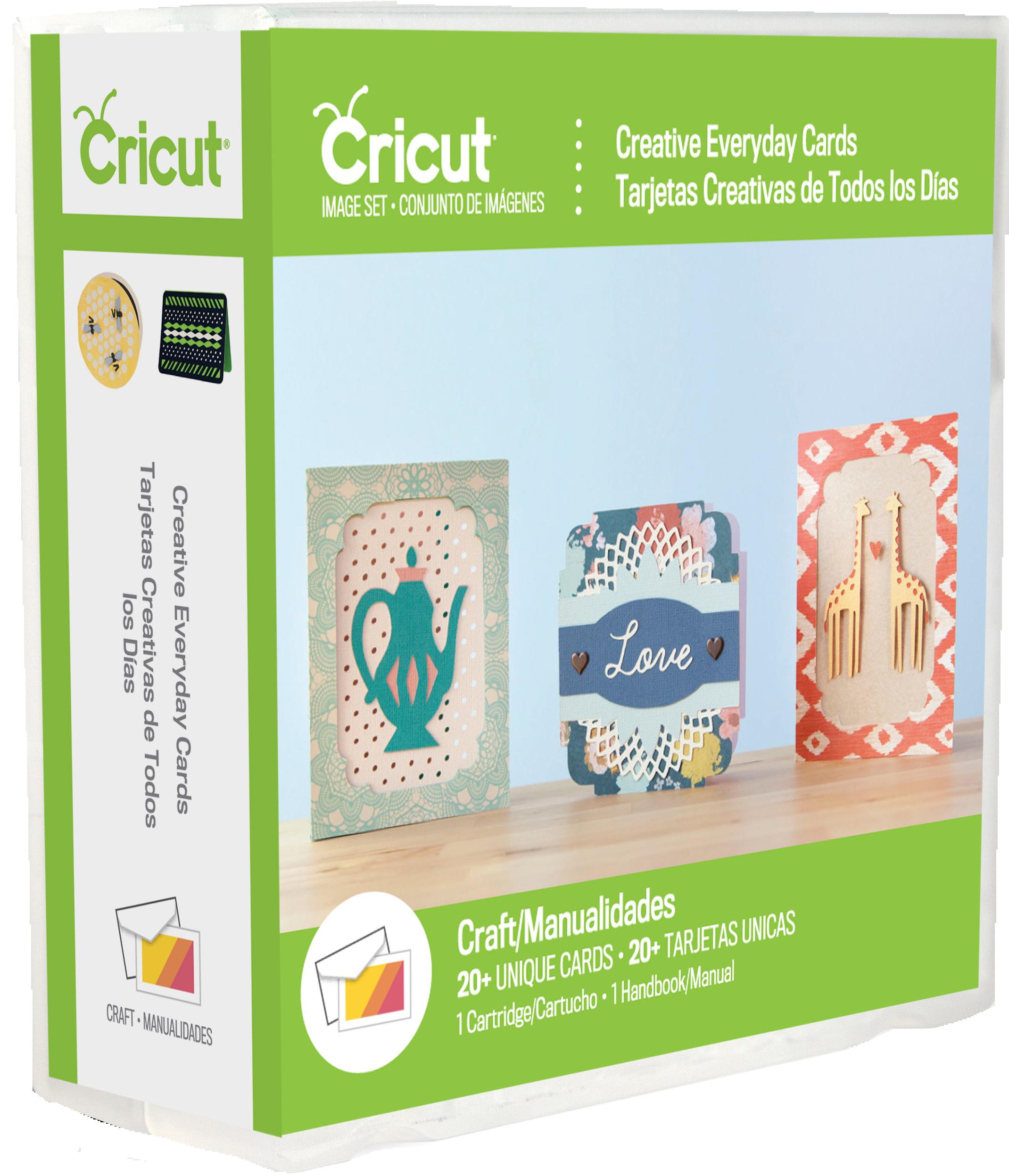 Creative Everyday Cards Cricut Cartridge