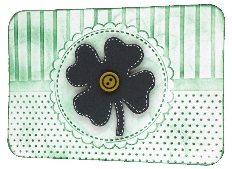 St. Patrick's Shamrock Card