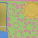 Spring sun layout