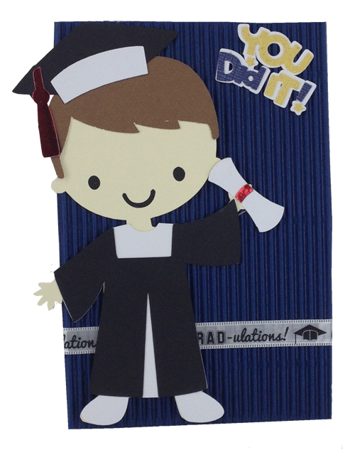 Graduation Card Cricut Idea