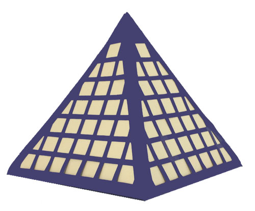 Fancy Boxes Pyramid Box