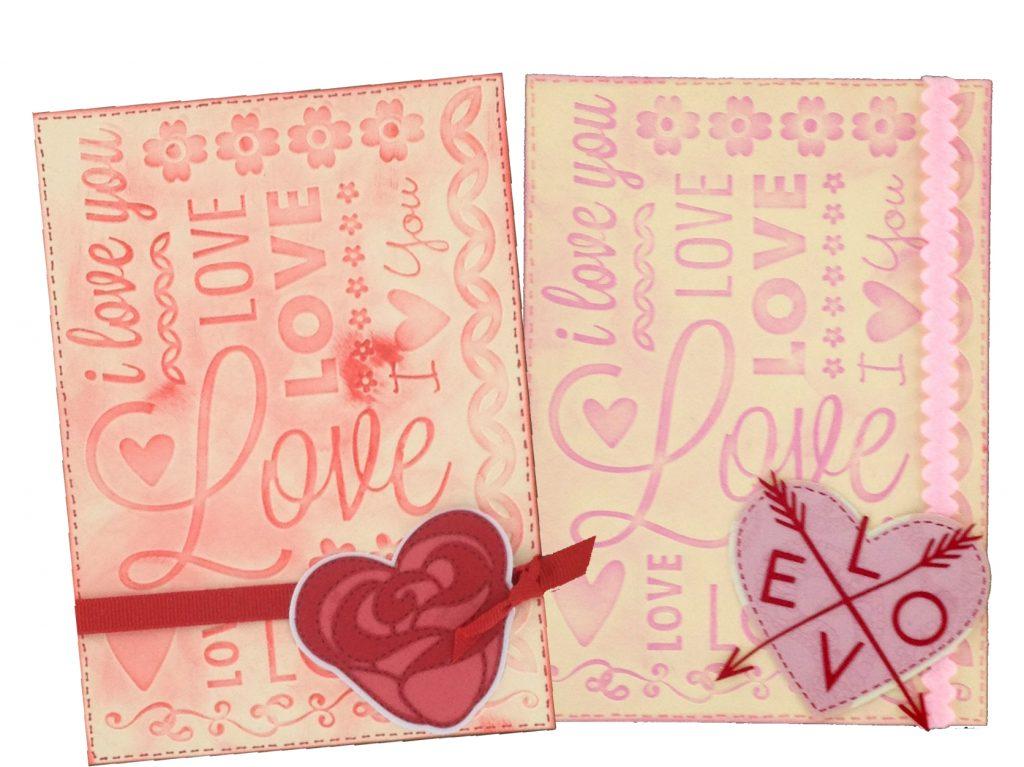 Valentines Day Cricut Cartridge Ideas- cards