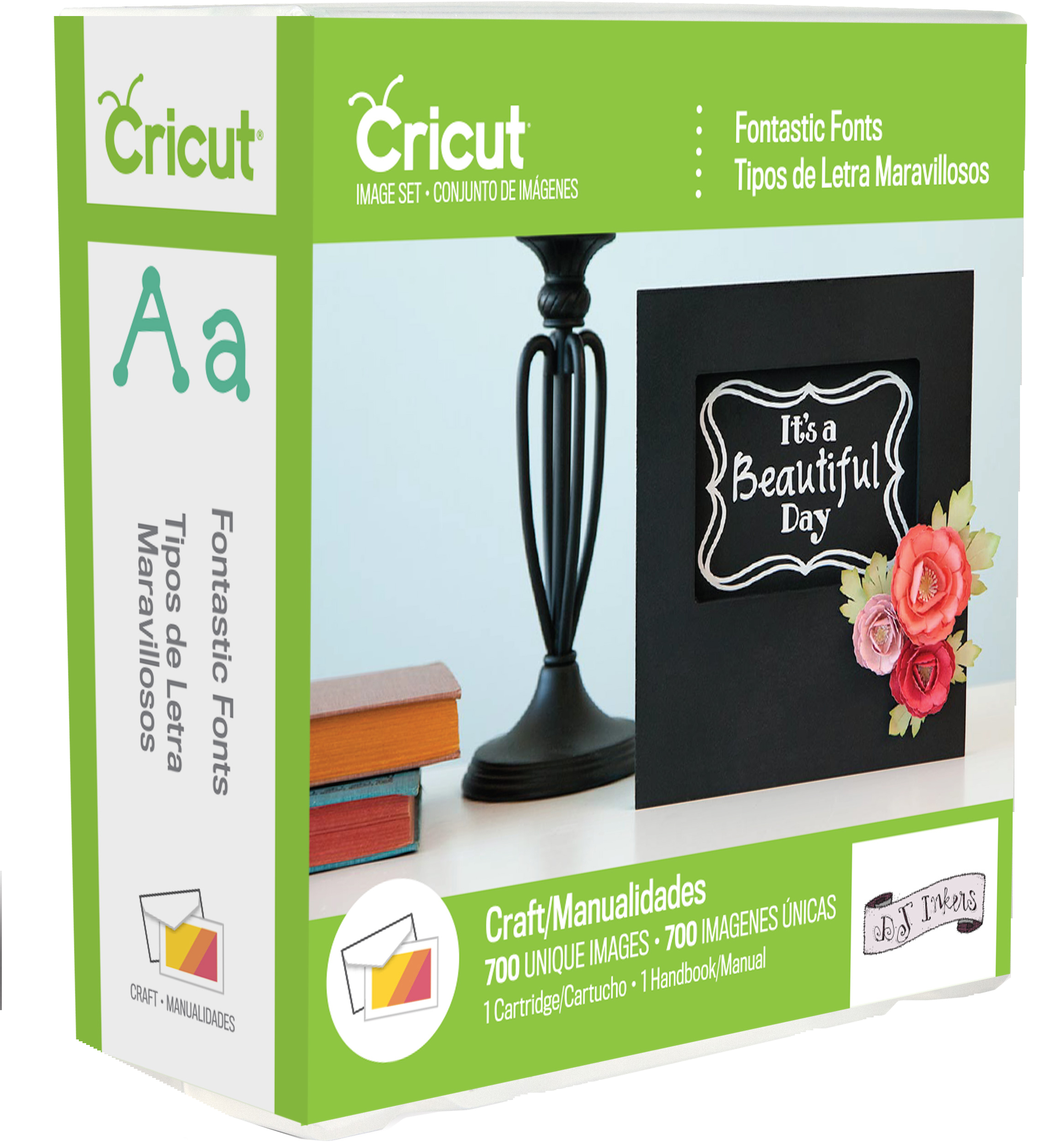 fontastic font Cricut Cartridge