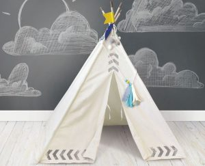 diy teepee kit light
