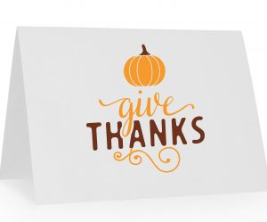 give thanks card example