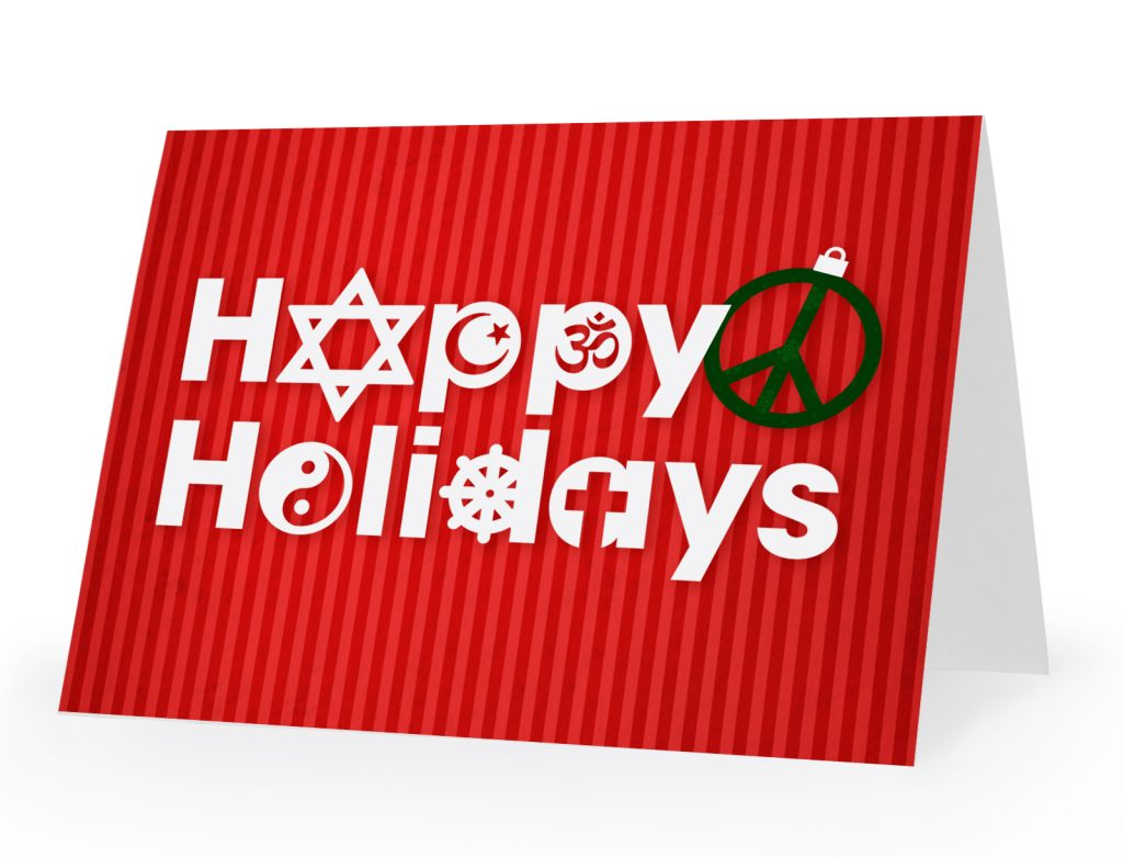 happy holidays download design card example