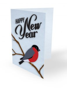 happy new year design concept