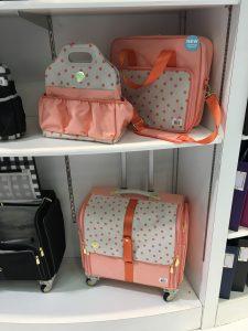 Peach bags