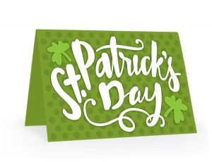 st. patrick's day card design download