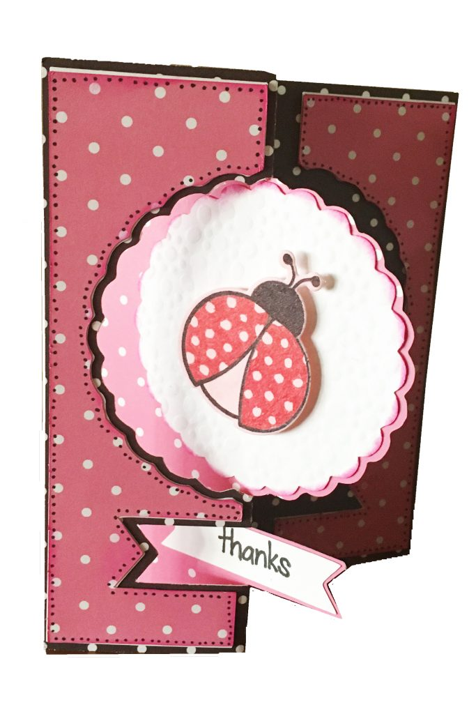 thanks ladybug flip its framelits card
