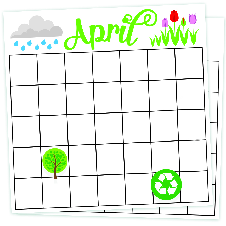 April 2016 Free SVG Designs: Earth Day Card SVG's