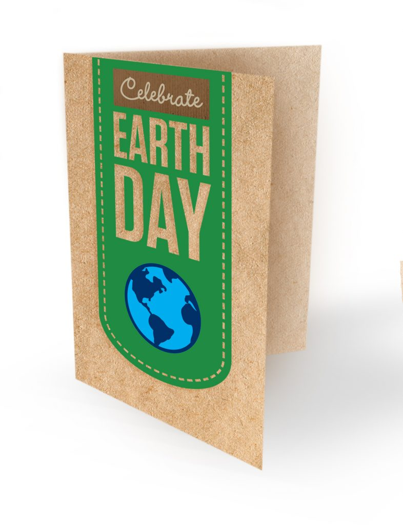 earth day card concept design