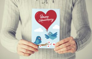 happy anniversary birds card concept available for design