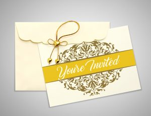wedding invite you're invited card concept available for download
