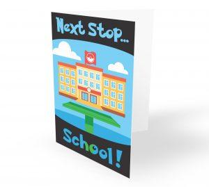 Pokemon Go Next Stop School Card