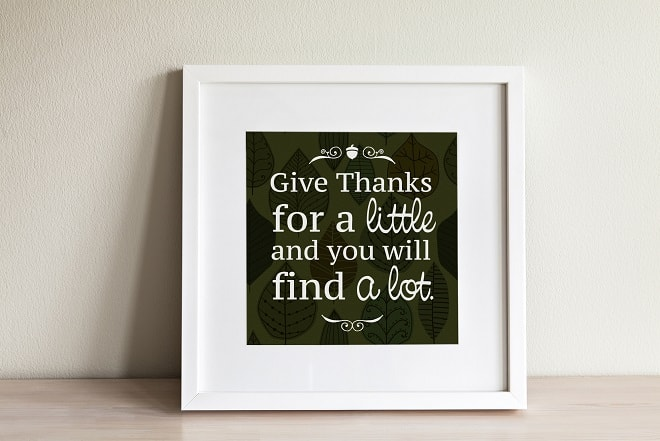 give thanks quote design - thanksgiving .svg project
