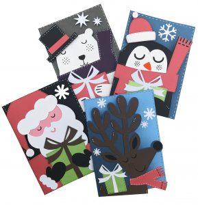 Merry Everything Cricut Cartridge Card Ideas