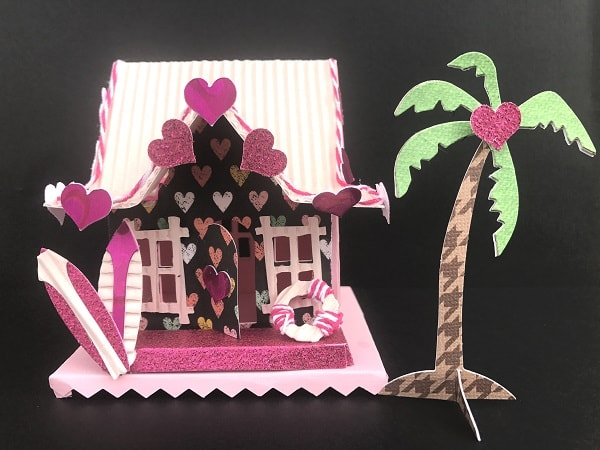 Sizzix Village Surf Shack Tim Holz Valentine's project
