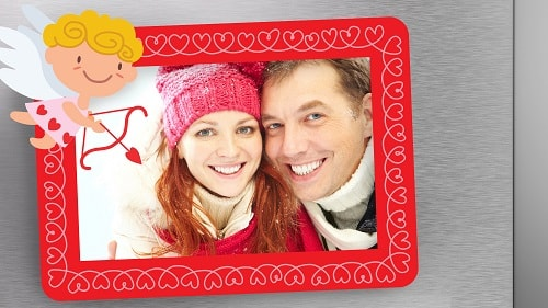valentine frame for diy picture projects
