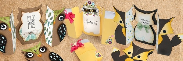 fold a long cards by jen long and sizzix