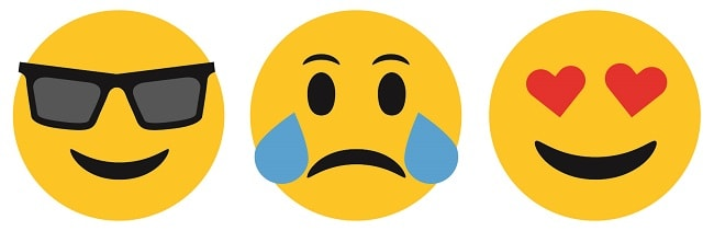 emoji icons design concept