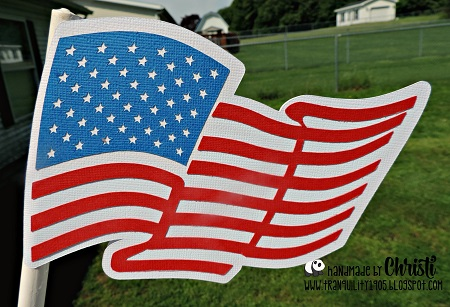 Paper American Flag Project (Free Download) | CraftDirect Blog