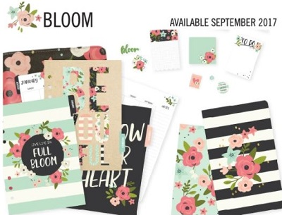 the bloom collection is part of the fall 2017 Simple Stories release