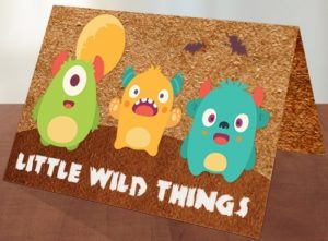 little wild things card concept completed