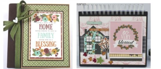 vintage blessings collection from new Simple Stories release