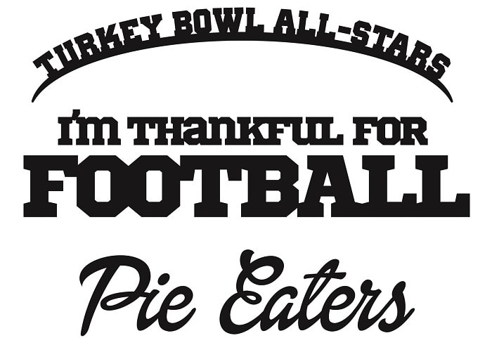turkey bowl jersey team names concept