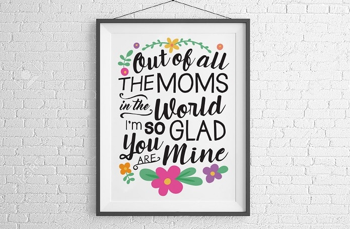 design concepts for the out of all moms print svg download