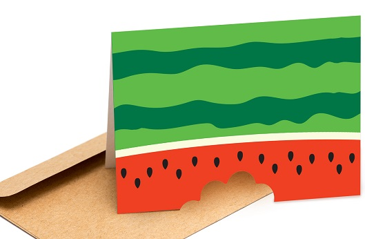watermelon card concept for svg download