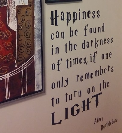 albus dumbledore wall quote