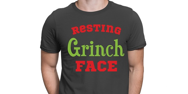 resting grinch face shirt project concept for svg design