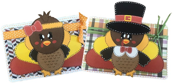 thanksgiving turkey card projects completed