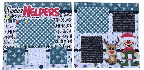 santa's helpers layout project completed