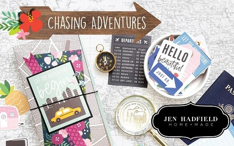 designs and themes from the Chasing Adventures collection