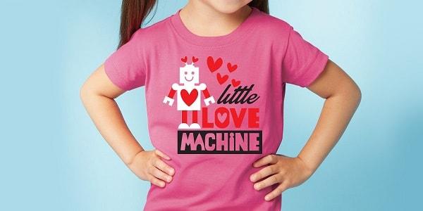 little love machine tshirt SVG design concept