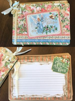 completed joy to the world recipe book