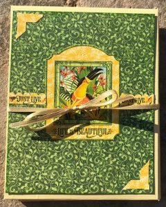 completed lost in paradise notebook project