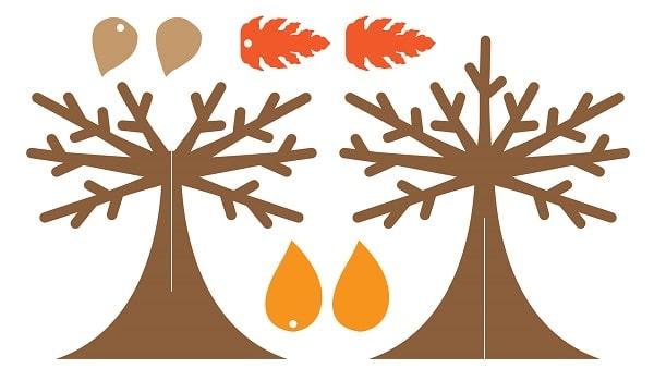 thankful tree tabletop svg concept