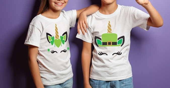 shamrock unicorns tshirt concepts