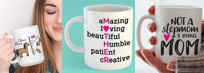 coffee mug svg design concepts