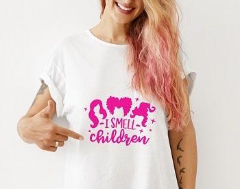 i smell children t-shirt svg design concept