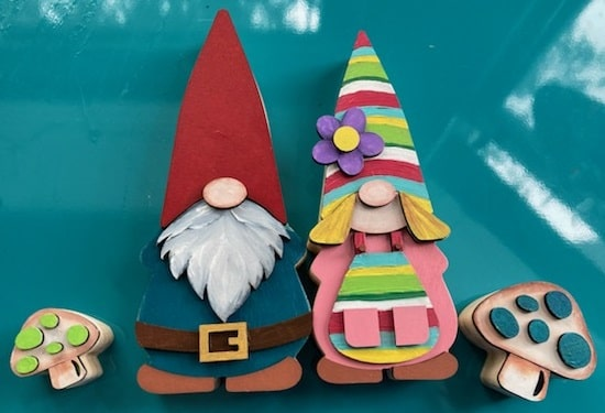 foundations decor odi and olive gnomes finished project