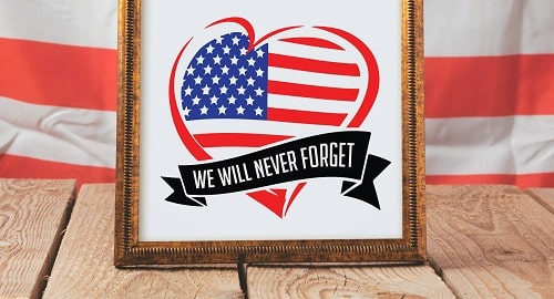we will never forget gallery print svg design concept