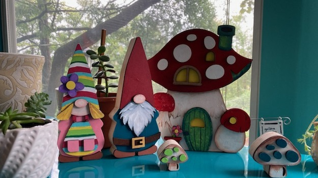 foundations decor zuhause gnome home and odi and olive gnomes finished project